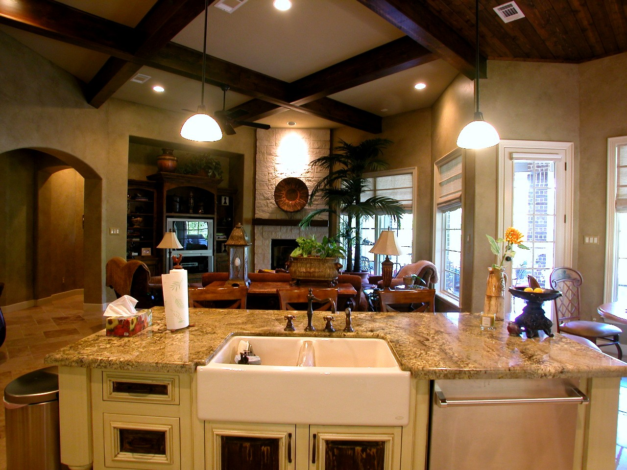 This is the page for Great room kitchen ideas